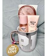 Victoria's Secret PINK Warm & Cozy Lotion & Mist 2.5 Fl.Oz. w/29 Oz Mug ... - $20.48