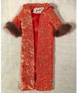 VINTAGE BARBIE 1963 GOLDEN ELEGANCE COAT #992 LT19 - $79.19