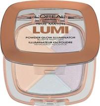 Loreal True Match LUMI Glow Illuminator C302 ICE Blush & Highlight w/ Brush NEW - $8.81