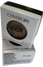 Covergirl Vitalist Healthy Glow Highlighter Lot of 2- Candlelit #7166 - $5.93