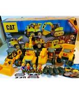 CAT Machine Maker Junior Operator Construction Vehicles Lot 4 Retired Ex... - $68.31