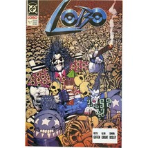 Lobo #4 of 4 February 1991 DC Comics Giffen Grant Bisley  - $9.99