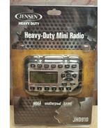 JENSEN HEAVY DUTY JHD910 MINI AM/FM/WB NOAA WEATHERBAND RADIO W AUDIO AU... - $135.44