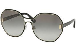 NEW PRADA Geometric Oversize Women's Sunglasse Pale Gold PR 53TS 1AB0A7 - $199.95