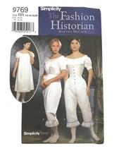 Simplicity Fashion Historian Petticoats Slips Sewing Pattern Reenactment... - $13.98