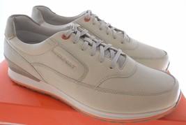 Rockport V76861 Crafted Sport Mudguard Men's Off White Walking Shoes Sz 14 - $89.99