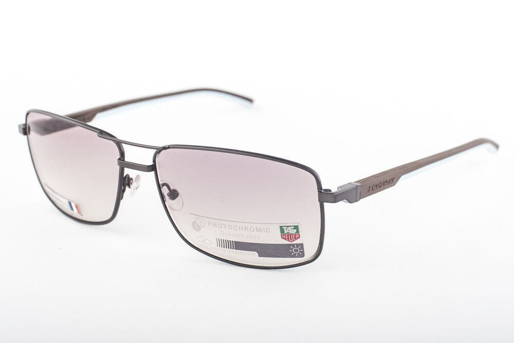 Primary image for Tag Heuer Automatic 0883-115 Dark Brown Light Blue / Brown Sunglasses TH0883