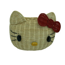 Hello Kitty Sanrio Japan Basket 1998 - Rare Vintage VTG New With Tag - $531.62