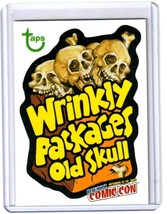 "2012 Wacky Packages Old School Series 4 Promo ""WRINKLY PACKAGES OLD SKUL... - $27.94"