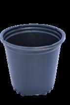 """2.5 Quart Black Plastic Round Nursery Pots -Set of 10 - 6.5"""" x 6.6"""" deep... - $17.81"""