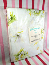 """Charming New Old Stock Sealed Springmaid Daisy Floral 81"""" x 104"""" Full Si... - $24.00"""