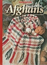 "Hard Covered Book  ""Hooked on Afghans"" - House of White Birches - Gently... - $18.00"
