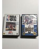 Lot Of 2 Sega Genesis Games A2  - $15.84