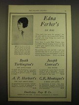 1924 Doubleday, Page & Co. Ad - Edna Ferber's So Big - $14.99