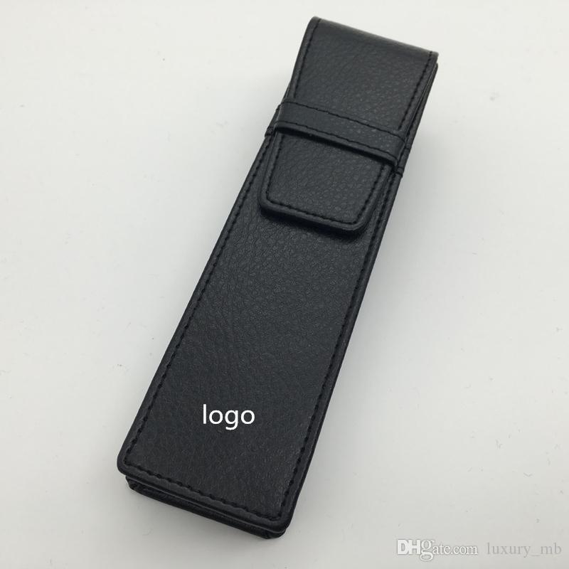 High quality Pen bag pencil pouch for 2 pieces MB pens , montel black color pen