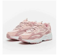 FILA RAY TRACER LOW TRAINERS SPORTS SNEAKERS WOMEN SHOES PINK SIZE 9.5 - $59.95