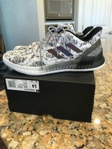 Adidas Harden BTE X Mens #CG5982 White Black Knit Basketball Shoes Size 14 image 2