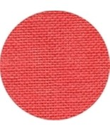 RIVIERA CORAL LINEN 32 Count by Wichelt  18 x 27 + FREE Tapestry Needle! - $19.79