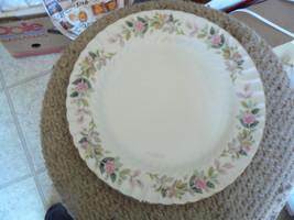Creative 2345 regency rose dinner plate 7 available - $3.91