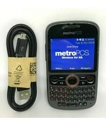 Huawei Pinnacle M635 Black MetroPCS Cellular Clean IMEI ESN Phone Works ... - $18.69