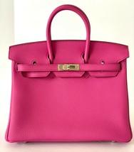 Hermes Magnolia Pink Birkin Bag 25 Togo Palladium Hardware 19 yrs on eBay - $19,795.05