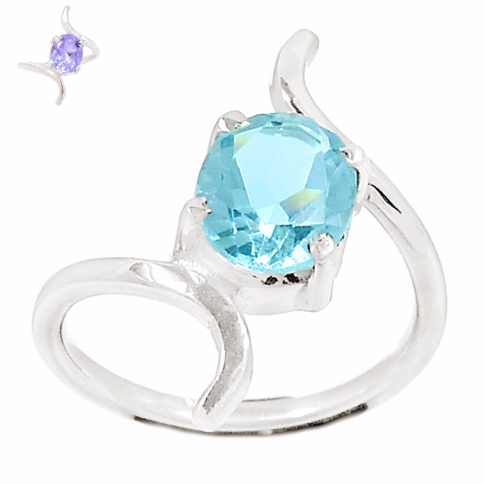 Very Beautiful Alexandrite Ring Size 7.5 US or P, 925 Silver, Handmade