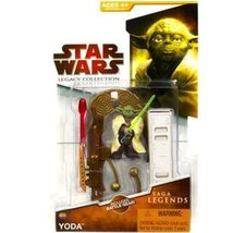 Yoda Legends Sl09 Legacy Collection Star Wars Action Figure - $24.49