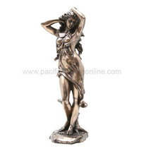 13.25 Inch Mighty Aphrodite Grecian Goddess Resin Statue Figurine - £33.84 GBP