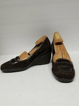 New Cole Haan brown suede wedge heels  Size 10B Air Technology Shoes - $59.40
