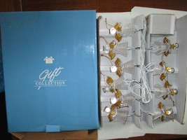 Avon Angel Light String Christmas Tree Decoration Trimming Holiday Gold ... - €10,17 EUR