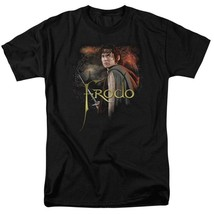 Lord of the Rings Frodo Baggins Ring bearer Elijah Wood graphic t-shirt LOR1021 image 1