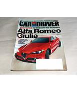 Car & Driver August 2016 car Truck Magazine Alfa Romeo 505 HP, BMW M3-Fi... - $9.22