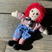 """Applause Raggedy Andy Doll Plush Fabric 12"""" Tall 2007 - $14.84"""