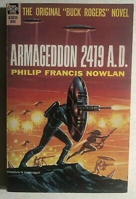 Primary image for ARMAGEDDON 2419 A.D the BUCK ROGERS novel by Philip Francis Nowlan (1962) Ace pb