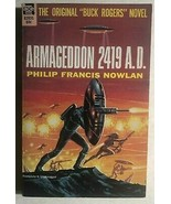 ARMAGEDDON 2419 A.D the BUCK ROGERS novel by Philip Francis Nowlan (1962... - $13.85