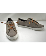 Sperry Top-Sider Pier View Taupe Canvas Slip On Sneakers - Women's Size 10  - $47.45
