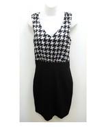 Charlotte Russe Womens Medium Dress Geo Color Block Sleeveless Black Blu... - $11.99