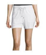 Liz Claiborne White Knit Shorts Size XL Msrp $38.00 New - $17.99