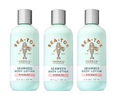 Bath & Body Works Sea Tox Seaweed Hydrating Body Lotion 10 fl oz Lot of 3 - $36.50