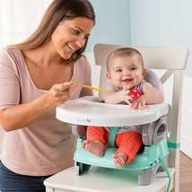 Booster Seat Folding High Chair Portable Baby Feeding Toddler Table Trav... - $30.27+