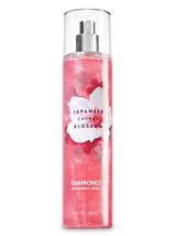 BATH & BODY WORKS Japanese Cherry Blossom 8.0 Fluid Ounces Diamond Shimm... - $18.03