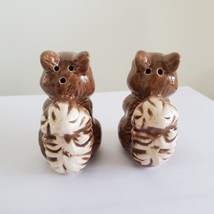 "Squirrel Salt & Pepper Shakers, Ceramic 2.5"" Woodland Animal Kitchen Accessory image 2"