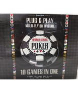 World Series Of Poker WSOP Plug & Play TV Arcade Multiplayer TV Game Exc... - $8.99