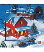 "Treasury of Christmas-Original TIME LIFE 2 CD Set 1987""45 Songs"" Limited... - $49.49"