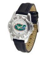 Florida Gators Licensed Women Ladies Sport Leather Band Watch - $51.50