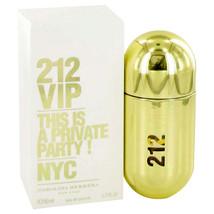 212 Vip By Carolina Herrera For Women 1.7 oz EDP Spray - $50.53