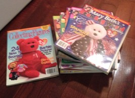 Huge Lot Of Vintage Beanie Baby Magazines Mint - $93.46