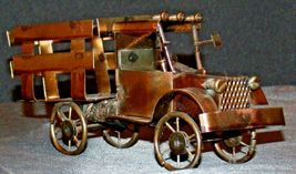 Brass Antique Truck Decor AA20-2069 Vintage Collectible image 3