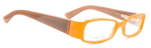 37aaef6889 Authentic Gucci Eyeglasses GG2907 EJK Pearl Orange Frames Rx-ABLE 52MM