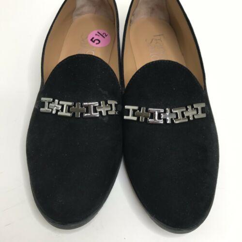 Franco Sarto Farrah Loafers New Women Size 5.5 Black Shoes